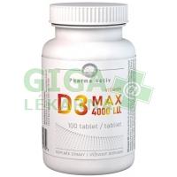Vitamin D3 MAX 4000 I.U. 100 tablet