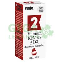 Vitamín K2MK7 + D3 60 tablet Virde