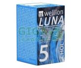 Wellion LUNA testovací proužky cholesterol 5ks