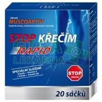 Zdrovit Muscoaktiv Stop křečím Rapid 20 sáčků